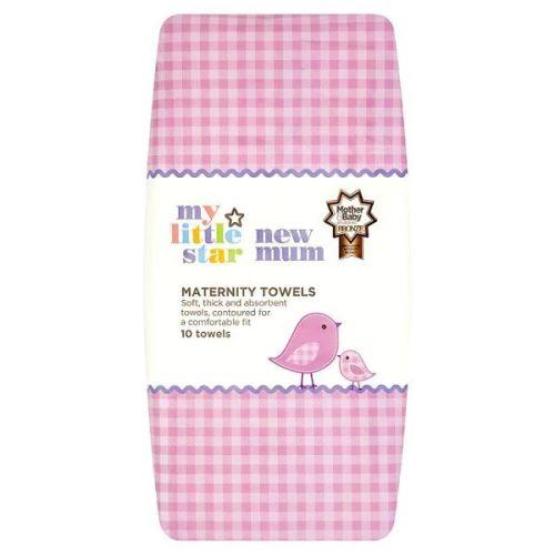 Superdrug My Little Star New Mum Maternity 10 Towels