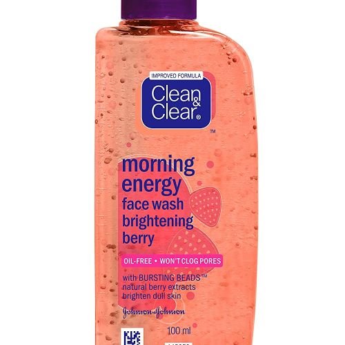 Clean & Clear Morning Energy Berry Blast Face Wash 50ml/ 100ml