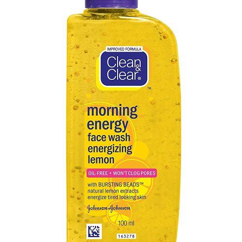 Clean & Clear Morning Energy Face Wash energizing lemon 50ml/ 100ml