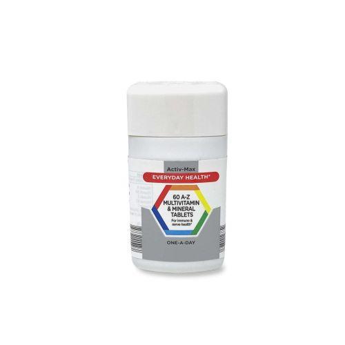 Activ-Max 60 A-Z Multivitamin & Mineral Tablets 92.7g 60 Pack