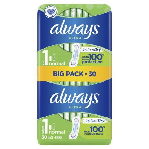 Always Big Pack Ultra Normal 30 Pac