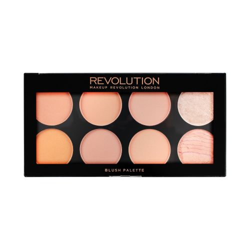 Makeup Revolution Ultra Blush Palette Hot Spice 8x1.625g