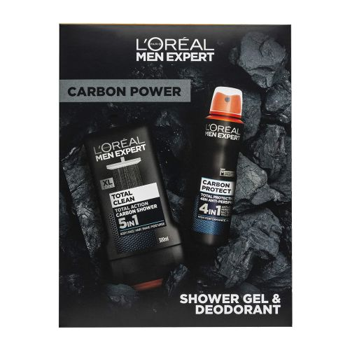 LOreal Men Expert Carbon Power Duo Gift Set Shower Gel & Deodorant