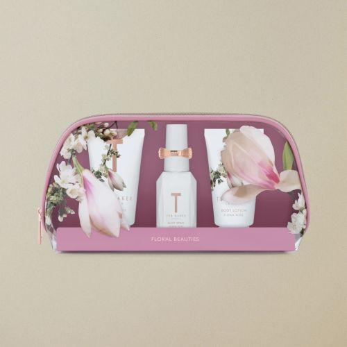 Ted Baker Floral Bliss mini beauty bag gift set