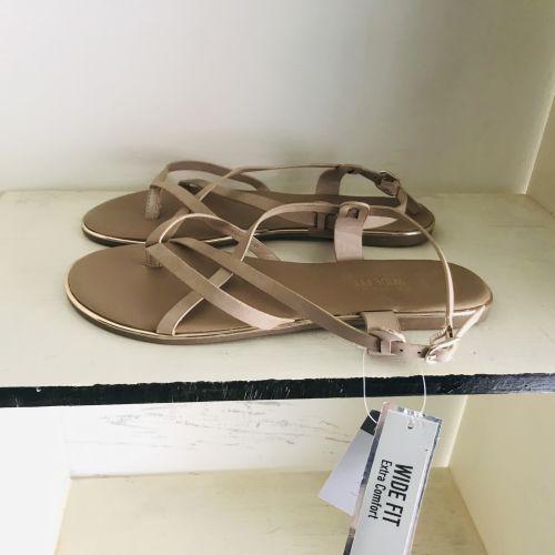 Primark Wide Fit Extra Comfort Nude Sandals