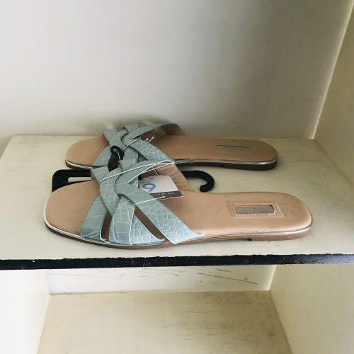 Primark Wide Fit Extra Comfort Green Sandals