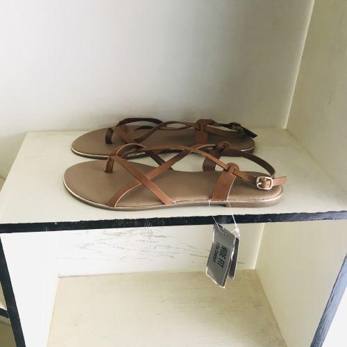 Primark Wide Fit Extra Comfort Tan Sandals