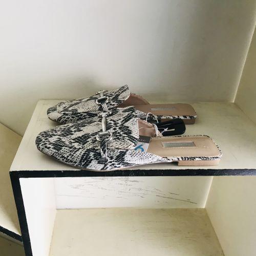 Primark Naturals Print Mules Shoes