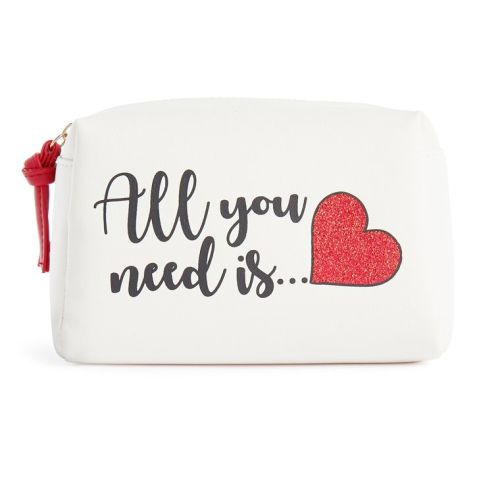 Primark All You Need is Love Makeup Bag