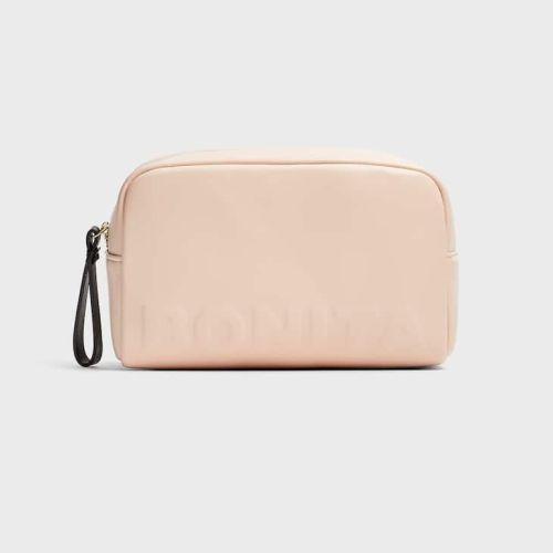 Stradivarius Faux leather Toiletry Bag