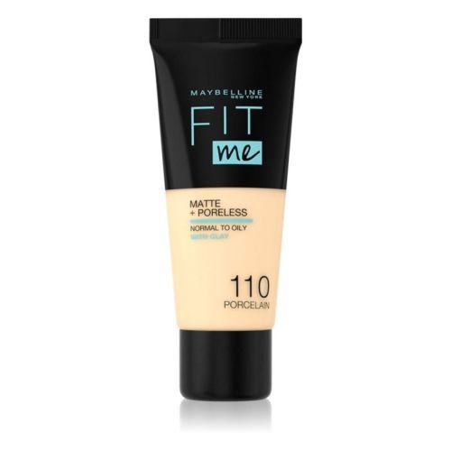 Maybelline Fit Me Matte + Poreless 110 Poreless Face Foundation 30ML