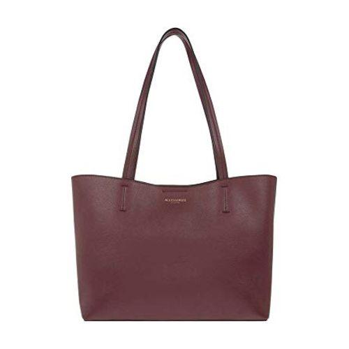 Accessorize London Leo Shopper Bag Women's Tote (Burgundy)