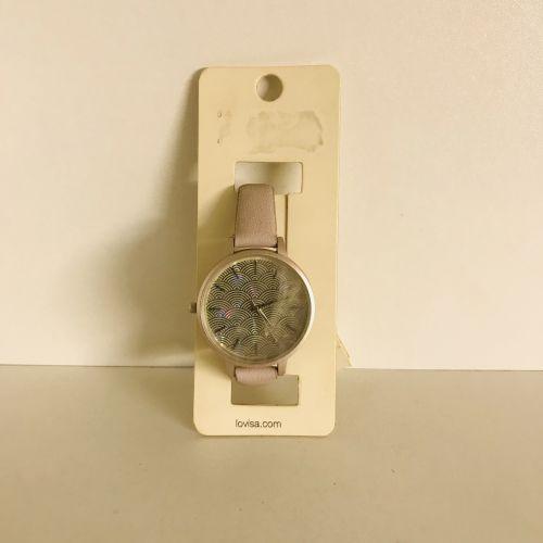 Lovisa Light Purple Mermaid Scale Dial Watch