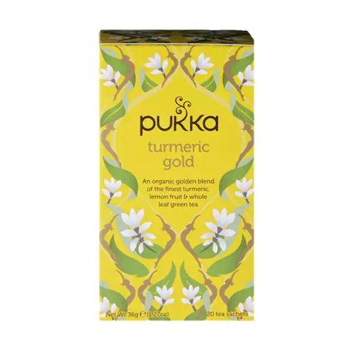 Pukka Organic Turmeric Gold Herbal Tea 36g