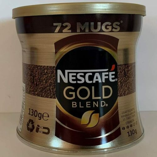 Nescafe Gold Blend Rich Smooth Instant Coffee Granules 130g
