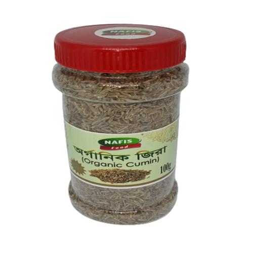 Nafis Food Organic Cumin (অরগানিক জিরা) 100gm / 200 gm