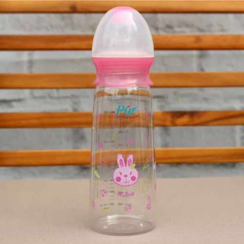 Pur Baby Feeding Bottle Pink / Paste 300ml (1103)