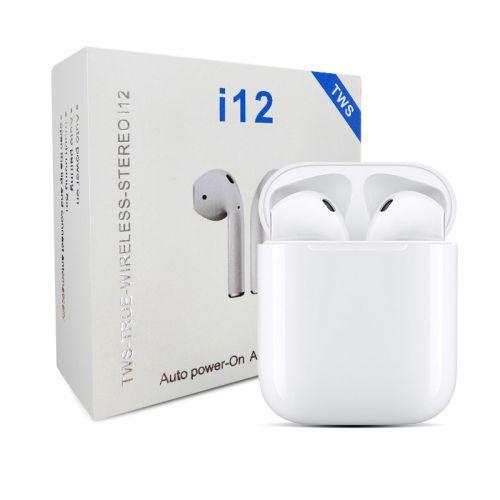 True wireless stereo model i12-Earbuds
