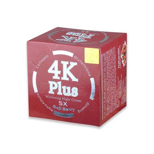 4K Plus Whitening Night Cream 5x Goji Berry