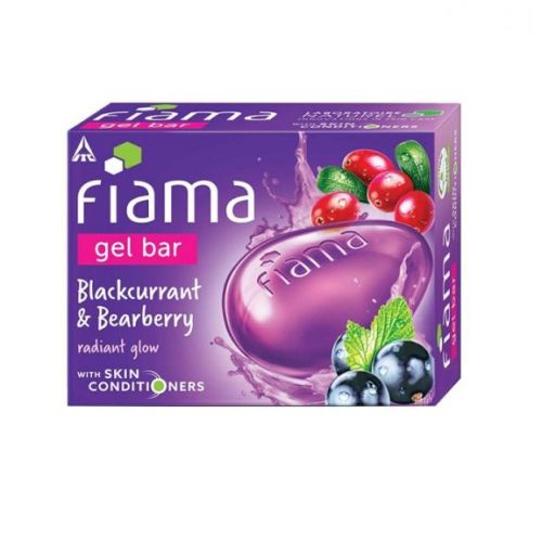 Fiama Blackcurrant & Bearberry Gel Bar 125g