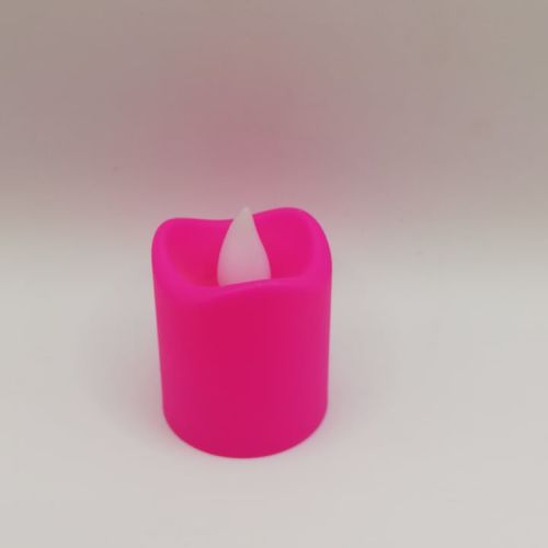 Pink Candle Light