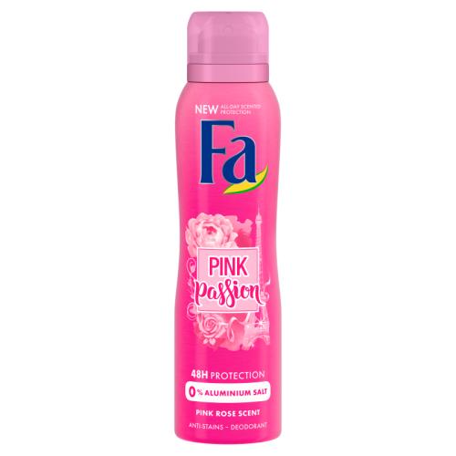 Fa Pink Passion Pink Rose Scent / Deodorant  200ml