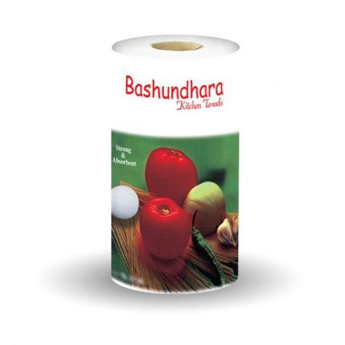 Bashundhara Kitchen Towel White Tissue Roll