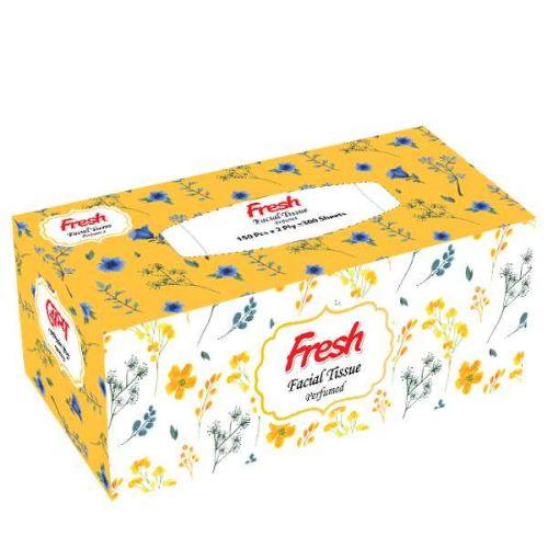 Fresh Facial Tissue Perfumed 150 Pcs x 2 Ply = 300 Sheets
