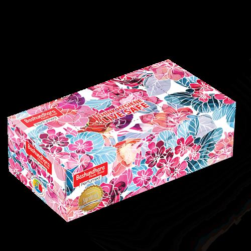 Bashundhara Facial Tissue Perfumed 120 Pcs 2 Ply