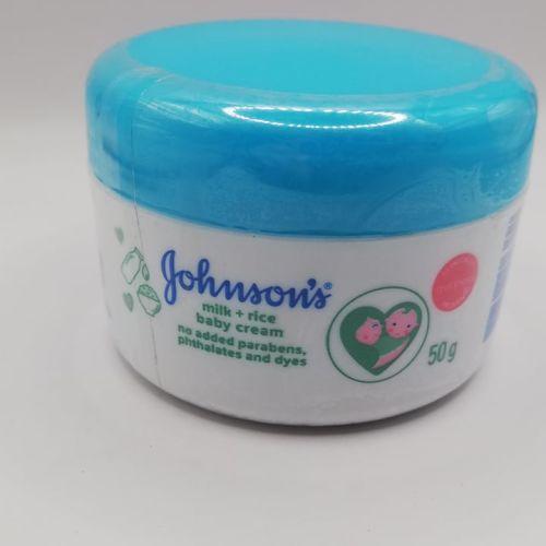 Johnson's milk + rice baby cream 50g