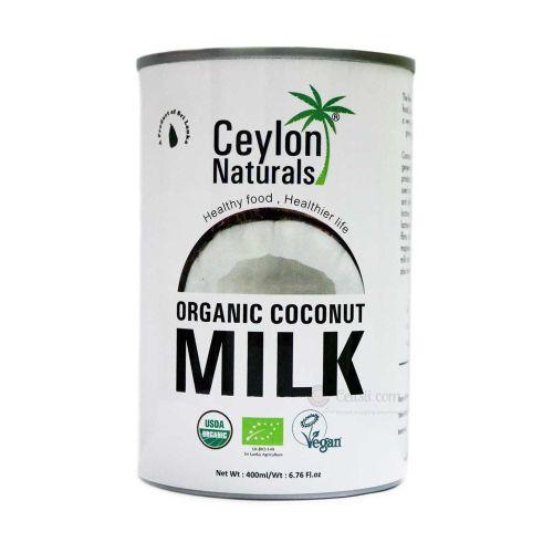 Ceylon Naturals Organic Coconut Milk 400ml