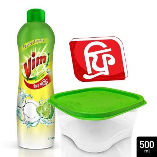 Vim Dishwashing Liquid 500ml (1 Container Free)