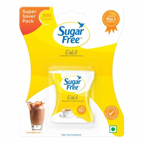 Sugar Free Gold Sweetener for Calorie Concious 500 Pellets