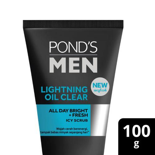 Ponds Men Lighting Oil Clear Facewash 50g / 100g