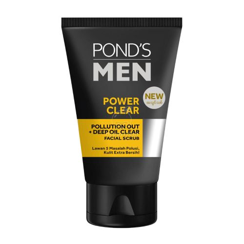 Ponds Men Power Clear Face Wash 50g / 100g