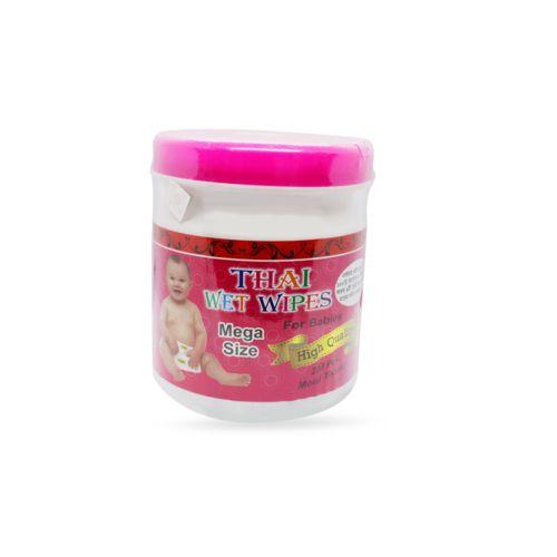 Thai Wet Wipes For Babies (Moist Tissue) 60 pcs