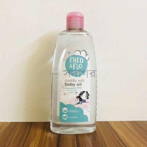 Tesco Fred & Flo Baby Oil 500ml