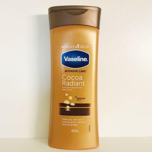 Vaseline Intensive Care Cocoa Radiant  Body Lotion 400ml