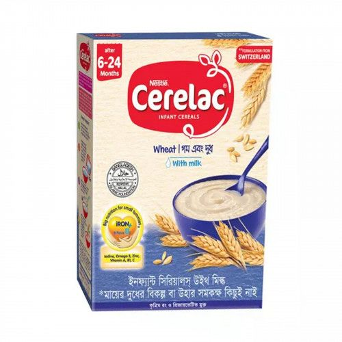 Nestle Cerelac Wheat with Milk Infant Cereals 400g