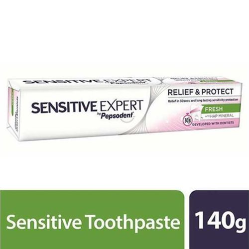 SENSITIVE EXPERT by Pepsodent FRESH with Hap Mineral Toothpaste 140g