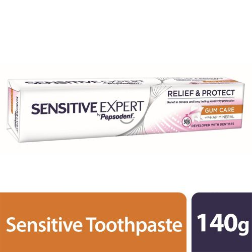 SENSITIVE EXPERT by Pepsodent GUM CARE with Hap Mineral Toothpaste 140g