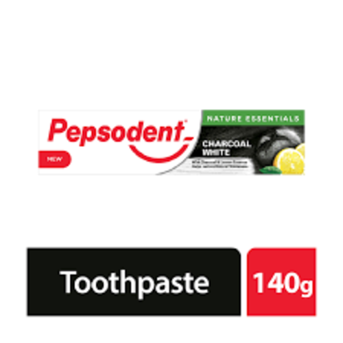 Pepsodent CHARCOAL WHITE Toothpaste 140g
