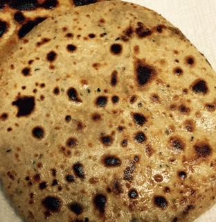 Yummy Aloo Parathas!