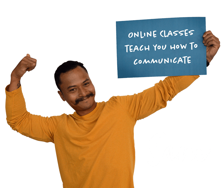 Online classes teach you how to communicate