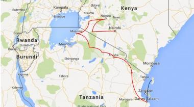 Trucksafari van Nairobi naar Dar es Salaam en Zanzibar (15 dagen)