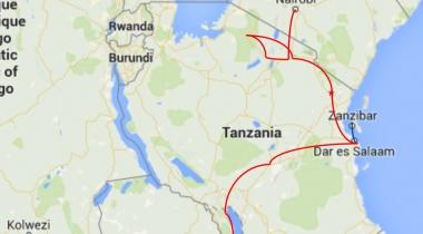 Trucksafari van Nairobi naar Victoria Watervallen (21 dagen)