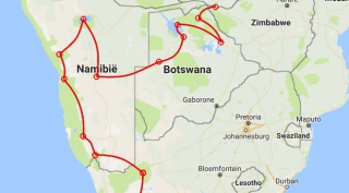 Trucksafari van Kaapstad naar Victoria Watervallen (21 dagen)