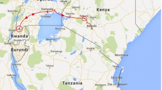 Trucksafari van Kampala naar Nairobi (10 dagen)