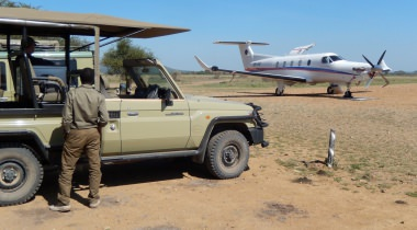 Selous Game Reserve per Cessna
