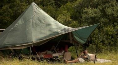 Privé tent safari met eigen engelstallige gids